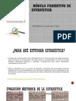 1. Módulo Formativo de Estadística-Introducción Al Estudio de La Estadística -Derecho 2019 (1)