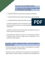 FORO CAPITULO II DE LA LEY DE  REFORMA  AGRARIA.docx