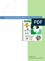 Referencias Bibliográficas com o MS WORD
