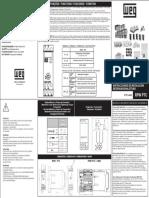 WEG Instrucoes de Instalacao Installation Instructions Instrucciones de Instalacion Rpw Ptc 0757.4400 Guia de Instalacao Portugues Br (1)