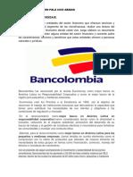 Actividad de Aprendizaje Bancolombia