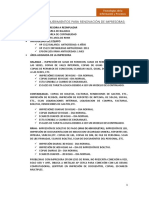 Formato RQ Impresoras
