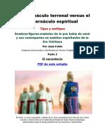 El Tabernáculo Terrenal Versus El Tabernáculo Espiritual