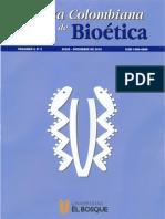 Revista de Bioética