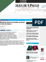 Bienal de cinema traz índios na frente e atrás da câmera - 09:10:2016 - Ilustrada - Folha de S.Paulo