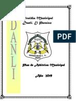 Plan de Arbitrios Municipaldanli 2019