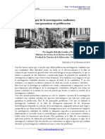 El Rigor de La Investigación Cualitativa Para Garantizar Su Publicación