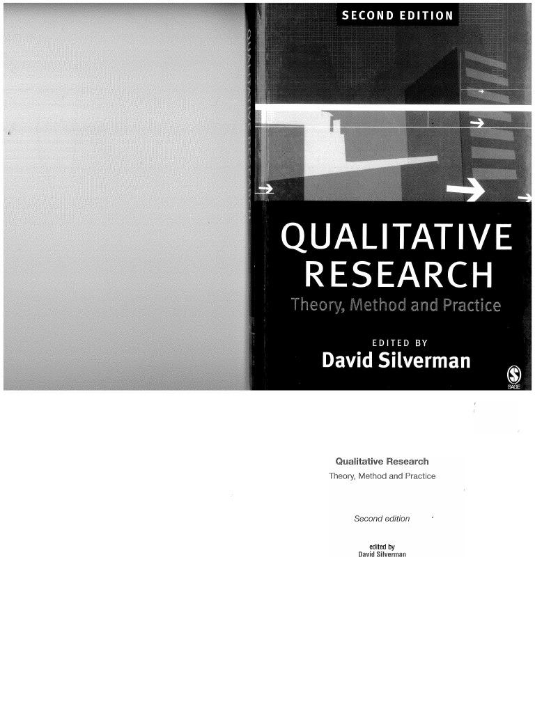 Silverman Qualitative Research pdf