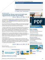 ConJur - Câmara Aprova Projeto Que Regulamenta Atuação Do Paralegal