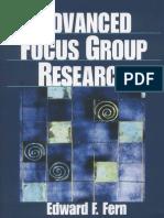 Edward Fern - Advanced Focus Group