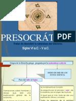 Presocráticos