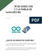 familia de sensores MQ