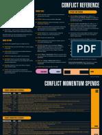 Star Trek Adventures Conflict Reference Sheet