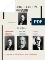Presidential Election 1904