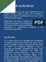 Diapositva de Rocas Ígneas