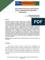 6 a Relação Histórica Entre Psicologia e Educação No Brasil