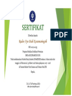 Sertifikat Pkl Di Unit Science and Techno Park