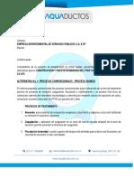 Pda Propuesta Alternativas Ptap Pfvr y Ac