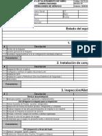 Copia de Check List Alistamiento de Vibro Compactadores