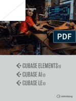 Cubase Elements LE AI 10 Manual de Operaciones Es