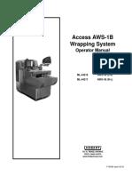 Hobart AWS Auto Wrapper Operator Manual