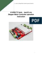 CNC TB6560 3 Axis Stepper Motor Controller