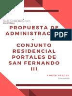 Propuesta - Conjunto Residencial Portales de San Fernando