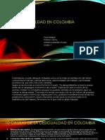 La Desigualdad en Colombia