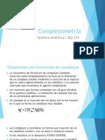 Complejometría QQ218