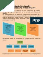 Actividad en Clase 04 Material de Lectura Carbohidratos