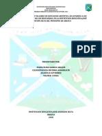 Implementacion de Talleres de Educacion Artistica-2019