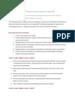 best practices for parent involvement in schools