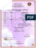 Class Program Gr 1