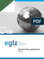 EGTA Membership Guidebook 2012