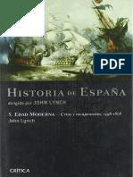 Lynch, John. - Historia de España v. Edad Moderna. Crisis Y Recuperacion 1598-1808 [2005]