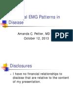 Abnormal EMG Patterns in Disease 2013