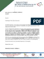 Sk Letter to Gov