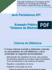Java Controle Biblioteca