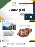 cobre mineral