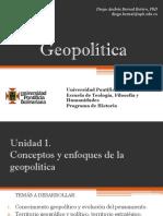 Unidad 0 Introducción y programación inicial Geopolítica