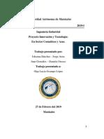 Proyecto Innovación y Tecnología en Sector Cosmeticos y Aseo. Terminado
