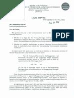 dilg-legalopinions-2014 Permanent vacancy in Sangguniang Barangay