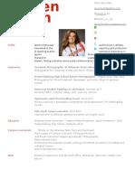 lauren resume