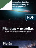 Presentación sobre espacio