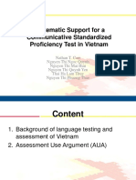 New Directions 2016 Nathan Carr Systematic Support for a Communicative Standardized Proficiency Test in Vietnam