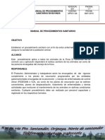 4. Manual de Procedimientos Sanitarios
