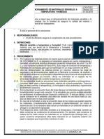 Log-p-004 Almacenamiento de Materiales Sensibles a Temperatura y Humedad