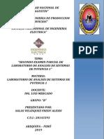 SEGUNDO EXAMEN PARCIAL DE LABORATORIO DE ANALISIS DE SISTEMAS DE POTENCIA.docx