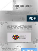 Acuerdo 004 de 30 de Abril de 2019 Diapositivas