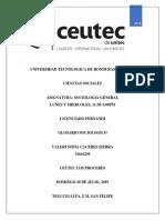 Glosario Sociológico Informe